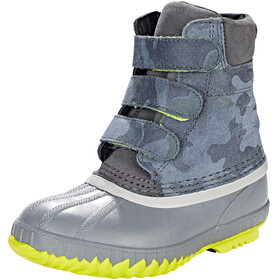 Sorel Kids Cheyanne II Velcro Boots Dark Grey/Dove